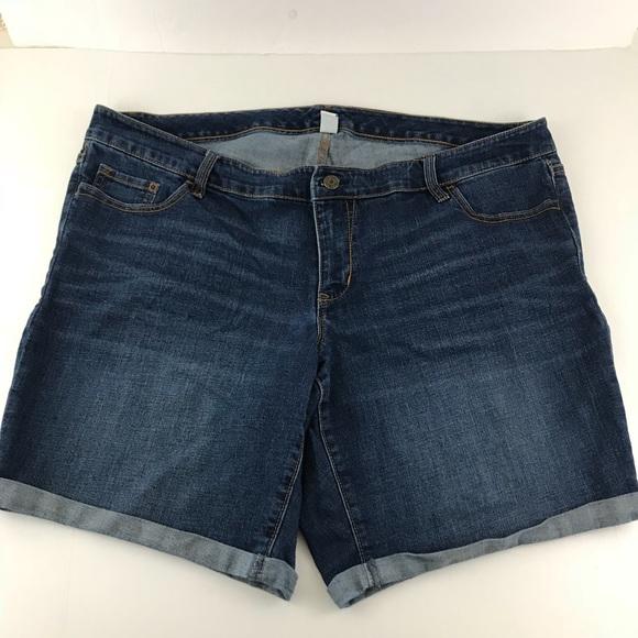 e70af1cf66 Old Navy Shorts | Women Plus Size 22 Jean Med Wash | Poshmark